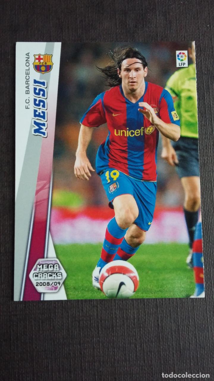 MEGACRACKS 2008 2009 08 09 - PANINI - 70 MESSI - FC. BARCELONA - (Coleccionismo Deportivo - Álbumes y Cromos de Deportes - Cromos de Fútbol)