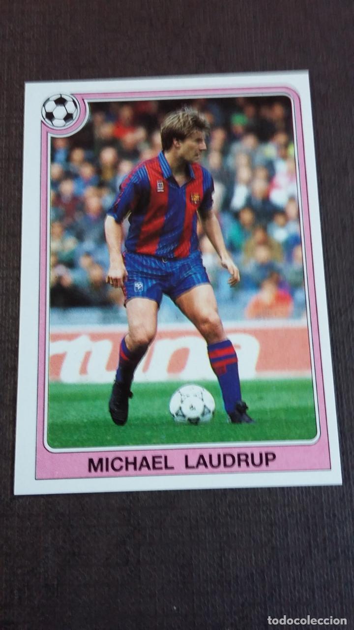 FÚTBOL LIGA 92/93 1992 1993 - PANINI - 165 MICHAEL LAUDRUP - FC. BARCELONA - ( NUNCA PEGADO ) (Coleccionismo Deportivo - Álbumes y Cromos de Deportes - Cromos de Fútbol)