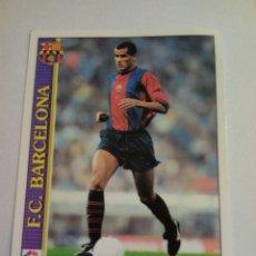 Cromos de Fútbol: 17 RIVALDO FC BARCELONA 2000 MUNDICROMO. Lote 141587186