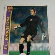 Cromos de Fútbol: 4 ARNAU FC BARCELONA 2000 MUNDICROMO. Lote 141588080