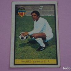 Cromos de Fútbol: CROMO DE FÚTBOL VALDEZ DEL VALENCIA C.F. DESPEGADO LIGA FHER 1972-1973/72-73. Lote 245378850