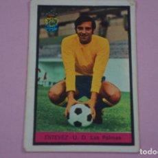 Cromos de Fútbol: CROMO DE FÚTBOL ESTEVEZ DEL U.D. LAS PALMAS DESPEGADO LIGA FHER 1972-1973/72-73. Lote 245378840