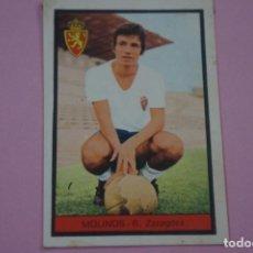 Cromos de Fútbol: CROMO DE FÚTBOL MOLINOS DEL REAL ZARAGOZA DESPEGADO LIGA FHER 1972-1973/72-73. Lote 245378815