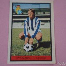Cromos de Fútbol: CROMO DE FÚTBOL OYARZABAL DE LA REAL SOCIEDAD DESPEGADO LIGA FHER 1972-1973/72-73. Lote 245378440