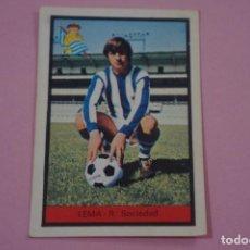 Cromos de Fútbol: CROMO DE FÚTBOL LEMA DE LA REAL SOCIEDAD DESPEGADO LIGA FHER 1972-1973/72-73. Lote 245378780