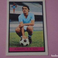 Cromos de Fútbol: CROMO DE FÚTBOL ALMAGRO DEL CELTA DE VIGO DESPEGADO LIGA FHER 1972-1973/72-73. Lote 245378715