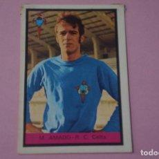 Cromos de Fútbol: CROMO DE FÚTBOL M. AMADO DEL CELTA DE VIGO DESPEGADO LIGA FHER 1972-1973/72-73. Lote 245378660