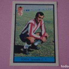 Cromos de Fútbol: CROMO DE FÚTBOL PORTA DEL GRANADA C.F. DESPEGADO LIGA FHER 1972-1973/72-73. Lote 245378570