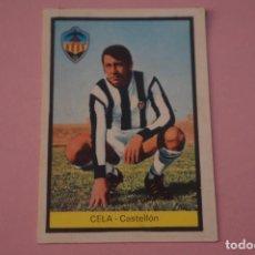 Cromos de Fútbol: CROMO DE FÚTBOL CELA DEL C.D. CASTELLON DESPEGADO LIGA FHER 1972-1973/72-73. Lote 245378415
