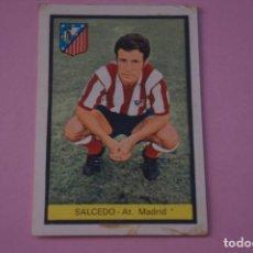 Cromos de Fútbol: CROMO DE FÚTBOL SALCEDO DEL AT. MADRID DESPEGADO LIGA FHER 1972-1973/72-73. Lote 245378460