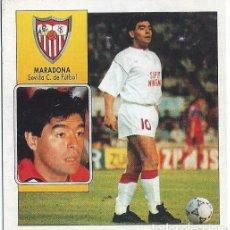 Cromos de Fútbol: MARADONA - SEVILLA - COLOCA LIGA 92 93 - EDICIONES ESTE. Lote 141709862