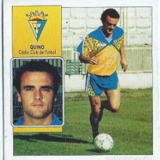Cromos de Fútbol: QUINO - CADIZ - COLOCA LIGA 92 93 - EDICIONES ESTE. Lote 141713450