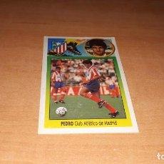 Cromos de Fútbol: CROMO PEDRO. Lote 141735682
