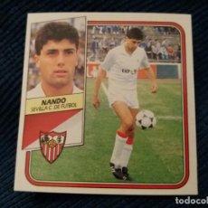 Cromos de Fútbol: 89/90 ESTE. NUNCA PEGADO SEVILLA NANDO . Lote 141799910