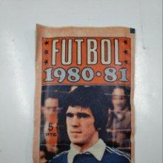 Cromos de Fútbol: SOBRE DE CROMOS FUTBOL LIGA 1980 1981 80-81. EDITORIAL FHER. TDKP13. Lote 141942138