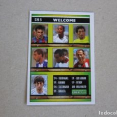 Cromos de Fútbol: MUNDICROMO FICHAS LIGA 2006 Nº 593 INDICE WELCOME / FICHAS + I 05 06 2005 2006 NUEVO. Lote 142191862