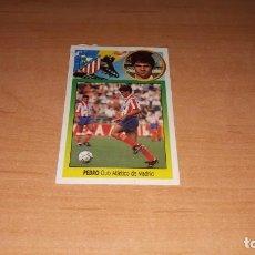 Cromos de Fútbol: CROMO PEDRO. Lote 142247454