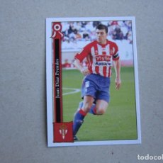 Cartes à collectionner de Football: MUNDICROMO FICHAS LIGA 2006 PLATINUM Nº 859 JUAN SPORTING GIJON 05 06 2005 2006 NUEVO. Lote 142259366