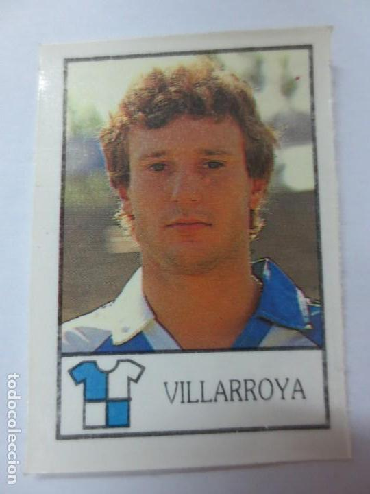 CROMO VILLARROYA BOLLY-FUTBOL 87-88 BOLLYCAO (Coleccionismo Deportivo - Álbumes y Cromos de Deportes - Cromos de Fútbol)
