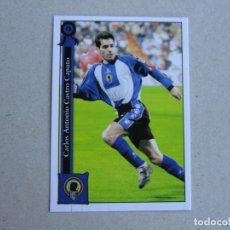 Cromos de Fútbol: MUNDICROMO FICHAS LIGA 2006 PLATINUM Nº 1011 CASTRO HERCULES 05 06 2005 2006 NUEVO. Lote 145548845