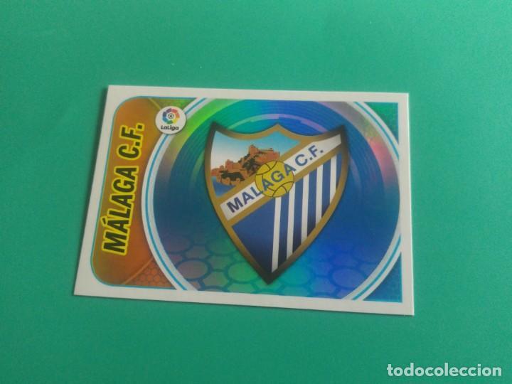 ESCUDO Nº 27 MÁLAGA - CROMO EDICIONES ESTE 2016-17 - 16/17 (NUEVO) (Coleccionismo Deportivo - Álbumes y Cromos de Deportes - Cromos de Fútbol)