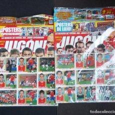 Cromos de Fútbol: JUGÓN 52 Y 53 ( PRECINTADAS ) ALBÚM Y CROMOS DE ESPAÑA CAMPEONES DEL MUNDO SUDÁFRICA 2010 . Lote 142790298