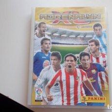 Cromos de Fútbol: ALBUM ARCHIVADOR 181 FICHAS ADRENALYN LIGA 2011 2012 11 12 PANINI IDOLOS SUPERCRACK BALON DE ORO . Lote 142792094