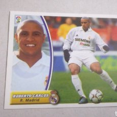 Cromos de Fútbol: ROBERTO CARLOS REAL MADRID LIGA ESTE 2003 2004 PANINI. Lote 142820990