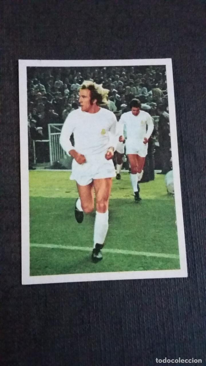 DISGRA / FHER LIGA 75/76 1975 1976 - NETZER - REAL MADRID - ( NUNCA PEGADO ) (Coleccionismo Deportivo - Álbumes y Cromos de Deportes - Cromos de Fútbol)
