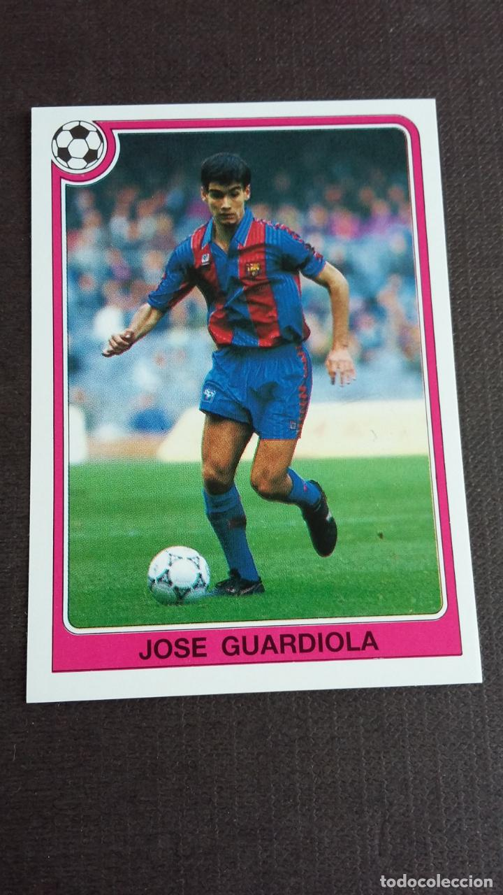 FÚTBOL LIGA 92 93 - PANINI - 108 JOSEP PEP GUARDIOLA ( FC. BARCELONA ) - ( NUNCA PEGADO ) (Coleccionismo Deportivo - Álbumes y Cromos de Deportes - Cromos de Fútbol)
