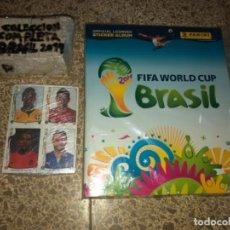 Cromos de Fútbol: CROMOS Y ÁLBUM COLECCIÓN COMPLETA WORLD CUP BRASIL 2014 PANINI + ACTUALIZACIÓN NUEVO . Lote 143014702