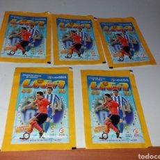Cromos de Fútbol: LOTE 5 SOBRES SIN ABRIR LIGA 09 10 EDICIONES ESTE. Lote 159314090