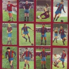 Cromos de Fútbol: DISGRA - BARCELONA - CAMPEONATO DE LIGA 1965 66 - 12 CROMOS. Lote 143152638