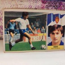 Cromos de Fútbol: CROMO EDICIONES ESTE TEMPORADA 86-87 ABAD COLOCA NUNCA PEGADO. Lote 143199561