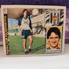 Cromos de Fútbol: CROMO EDICIONES ESTE TEMPORADA 97-98 DOS SANTOS FICHAJE BIS NUNCA PEGADO. Lote 143201394