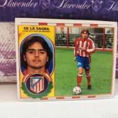 Cromos de Fútbol: CROMO EDICIONES ESTE TEMPORADA 96-96 DE LA SAGRA BAJA NUNCA PEGADO. Lote 143201698