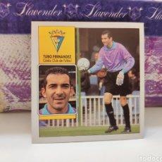 Cromos de Fútbol: CROMO EDICIONES ESTE TEMPORADA 92-93 TUBO FERNÁNDEZ COLOCA SIN PEGAR. Lote 143201942