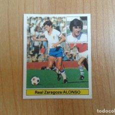 Cromos de Fútbol: ALONSO -- ZARAGOZA -- 81/82 -- ESTE -- NUNCA PEGADO. Lote 143589438