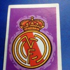 Cromos de Fútbol: CROMO NUNCA PEGADO FUTBOL RUIZ ROMERO CAMPEONATO DE LIGA 1971 Nº 76 ESCUDO REAL MADRID. Lote 288057663