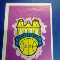 Cromos de Fútbol: CROMO NUNCA PEGADO FUTBOL RUIZ ROMERO CAMPEONATO DE LIGA 1971 Nº 271 ESCUDO PONTEVEDRA. Lote 288057503