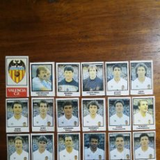 Cromos de Fútbol: VALENCIA C.F. - 18 CROMOS - EQUIPO COMPLETO - PATERNINA LIGA 1991/92 91/92. Lote 143618910