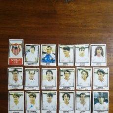 Cromos de Fútbol: SEVILLA C.F. - 18 CROMOS - EQUIPO COMPLETO - PATERNINA LIGA 1991/92 91/92. Lote 143619178