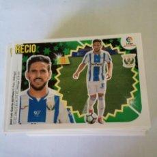 Cromos de Fútbol: LIGA ESTE 2018/19-LEG 10 BIS/2 RECIO (V). Lote 143705066