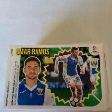 Cromos de Fútbol: LIGA ESTE 2018/19-LEG 11B OMAR RAMOS (B). Lote 143705282