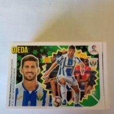 Cromos de Fútbol: LIGA ESTE 2018/19-LEG 13 OJEDA (II). Lote 143705566