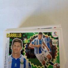 Cromos de Fútbol: LIGA ESTE 2018/19-LEG 15 BIS CARRILLO (II). Lote 143705926