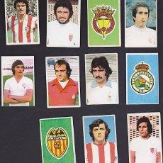 Cromos de Fútbol: LOTE 11 CROMOS RUIZ ROMERO RESERVADO. Lote 143705962