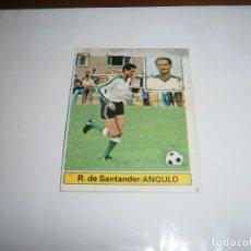 Cromos de Fútbol: ANGULO RACING SANTANDER FICHAJE Nº 14 81/82 ESTE RECUPERADO COLOCA. Lote 143706238