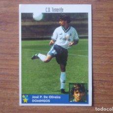 Cromos de Fútbol: LOS MEJORES EQUIPOS DE EUROPA 97 98 PANINI 108 DOMINGOS (TENERIFE) SIN PEGAR CROMO 1997 1998. Lote 143736938