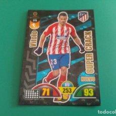Cromos de Fútbol: 516 VITOLO (NUEVO SUPER CRACK) - ATLÉTICO MADRID - CROMO ADRENALYN XL 2017-18 - 18/19 . Lote 143737178